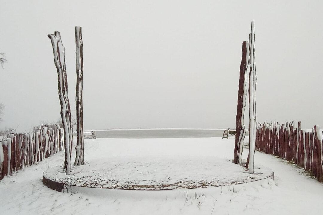 Enclosure Rites in the snow